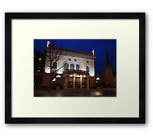 Historic Sheldon Theatre Framed Print
