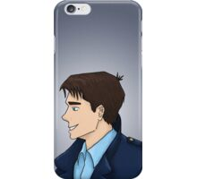 Captain Jack Harkness Profile iPhone Case/Skin