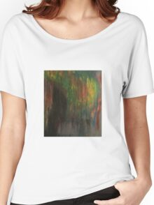 Color Smear Women's Relaxed Fit T-Shirt
