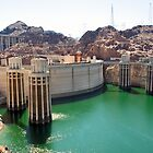 RT 14 - Hoover Dam (Boulder Dam), Nevada, USA by Buckwhite