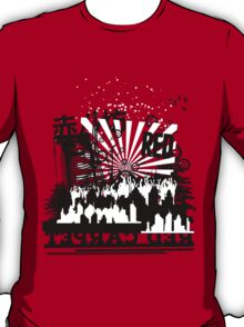 Urban color Red T-Shirt