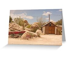 RT14 - Triangle T Historic Ranch Greeting Card