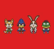 Star Fox Team Mini Pixels Kids Tee