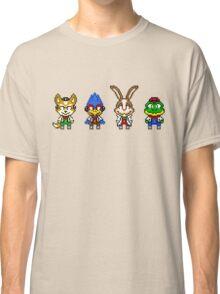 Star Fox Team Mini Pixels Classic T-Shirt