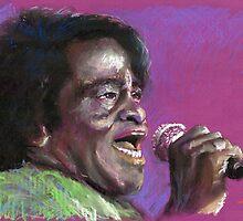 Jazz James Brown by Yuriy Shevchuk