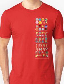Pokemon Gym Badges T-Shirt