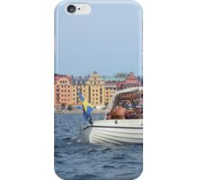Boating in Stockholm iPhone Case/Skin