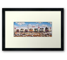 Used and Used Framed Print