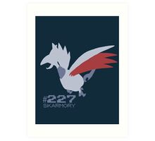 Skarmory! Pokemon! Art Print