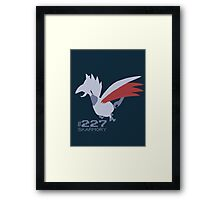 Skarmory! Pokemon! Framed Print