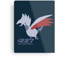 Skarmory! Pokemon! Metal Print
