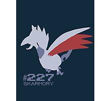 Skarmory! Pokemon! Photographic Print