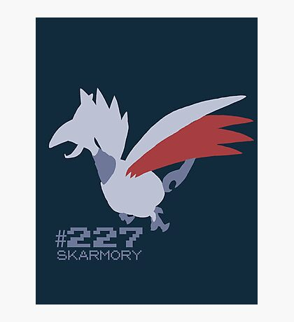 Skarmory! Pokemon! Photographic Print