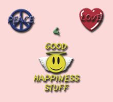 Peace Love Good Happiness Stuff Kids Clothes