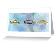 A Series of Crowns (Landscape) Greeting Card