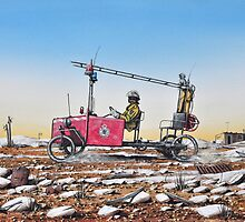 Grassy, Lightning Ridge Rural Fire Brigade by John  Murray