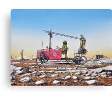 Grassy, Lightning Ridge Rural Fire Brigade Canvas Print
