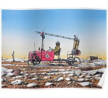 Grassy, Lightning Ridge Rural Fire Brigade Poster