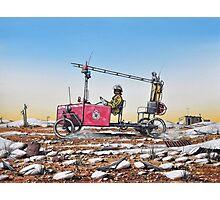 Grassy, Lightning Ridge Rural Fire Brigade Photographic Print