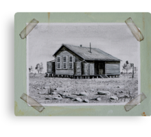 Lightning Ridge Central School Centenary  Canvas Print