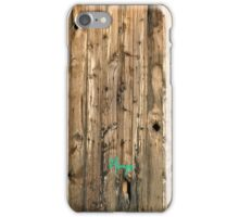 Woody by Vikimages iPhone Case/Skin