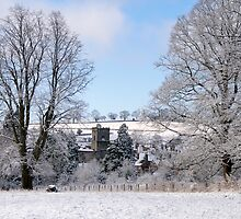 Much Wenlock, Shropshire in the snow by Barry Culling