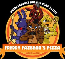 Freddy Fazbear's Pizza Logo by Boop Bear