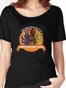 Freddy Fazbear's Pizza Logo Women's Relaxed Fit T-Shirt