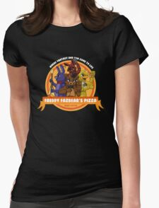 Freddy Fazbear's Pizza Logo Womens Fitted T-Shirt