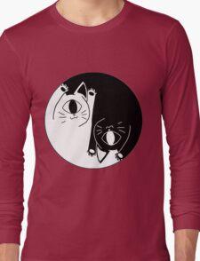 yin nyang Long Sleeve T-Shirt