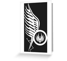 Starbucks Tattoo BSG 2 Greeting Card