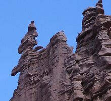 Red rock in Moab by Brandee