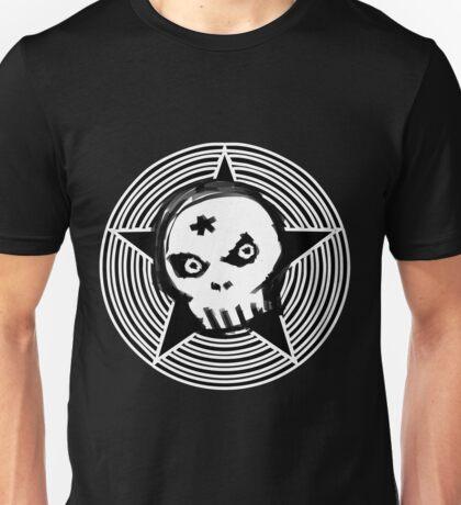 Hypno Skull Unisex T-Shirt