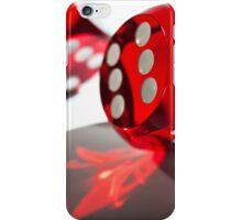 Red Dice iPhone Case/Skin