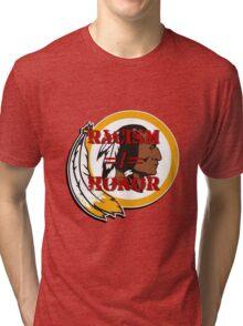 Racism =/= Honor Tri-blend T-Shirt