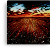 The Goodooga Brewarrina Road Canvas Print