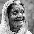 Enjoying a Laugh by Deborah Clearwater