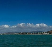 Townsville from Halifax Bay by Paul Gilbert