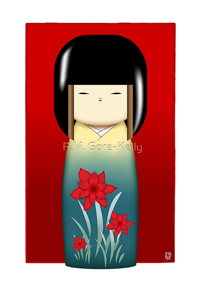 The Kokeshi Collection - Hana by F.M. Gore-Kelly