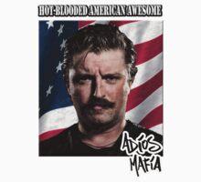 Adios Mafia Hot-Blooded Awesome Kids Tee