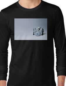 Drumming up a storm Long Sleeve T-Shirt