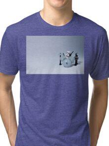 Drumming up a storm Tri-blend T-Shirt