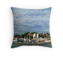 Breakwater Marina - Townsville Throw Pillow
