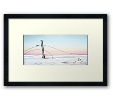 Its the Double Bar Gang Framed Print