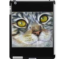 Blink Macro Cat Painting iPad Case/Skin