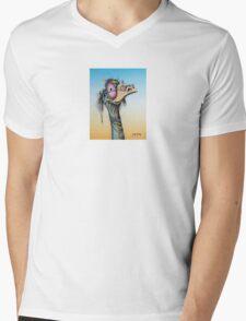 Happy Hippy Mens V-Neck T-Shirt