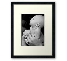 Loving hands to hold Framed Print