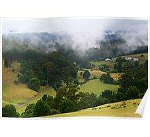 Otway Farmlands, Forrest  Poster