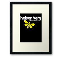 Heisenberg Laboratories Framed Print