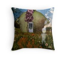 Mutha Nature Throw Pillow